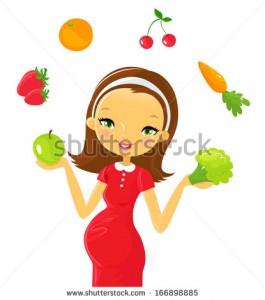 stock-vector-pregnancy-healthy-food-166898885